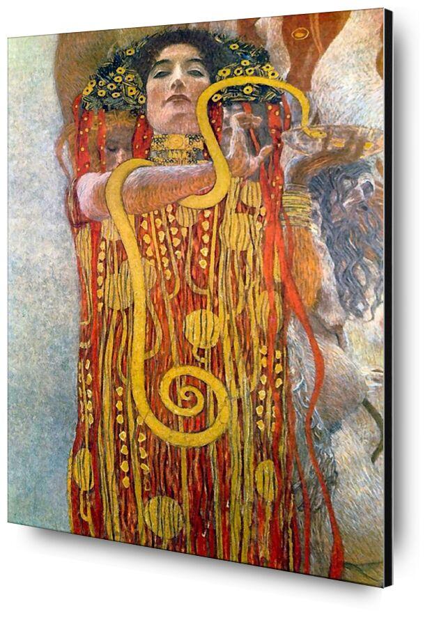 Hygiène - Gustav Klimt de AUX BEAUX-ARTS, Prodi Art, KLIMT, femme, savon, hygiène, toilette, salle de bain