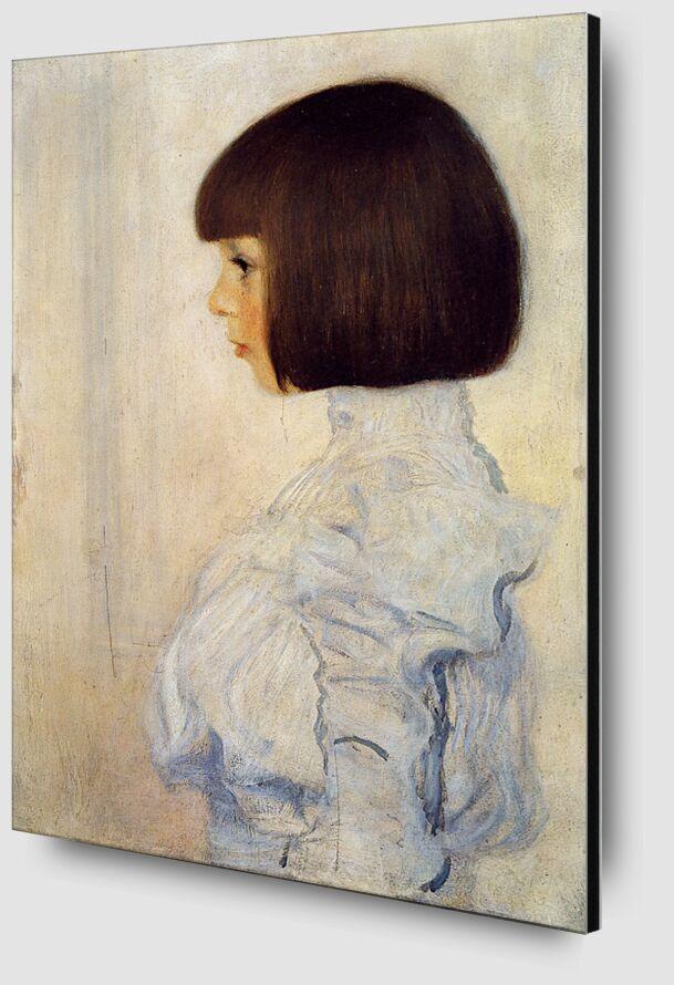 Portrait of Helene Klimt - Gustav Klimt from AUX BEAUX-ARTS Zoom Alu Dibond Image