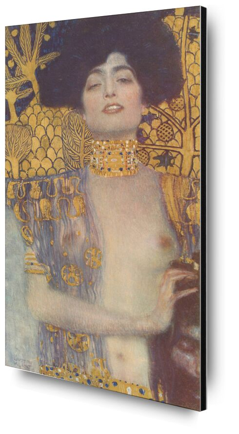 Judith, 1901 - Gustav Klimt from AUX BEAUX-ARTS, Prodi Art, gold, nude, be, portrait, woman, KLIMT