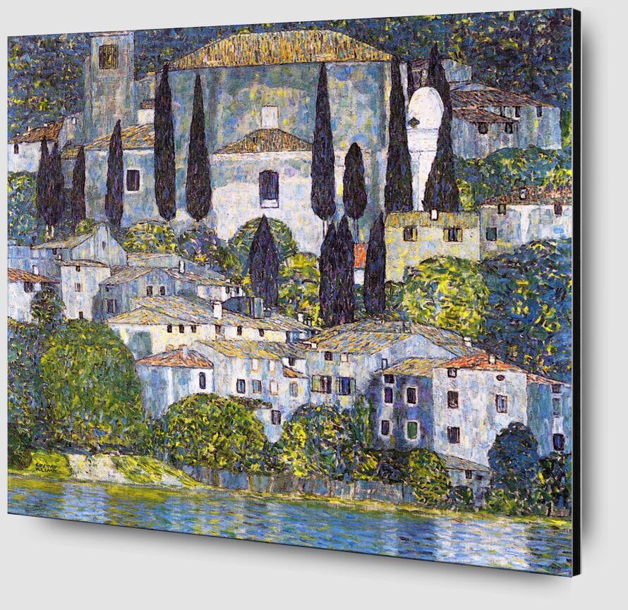 Église de Cassone sul Garda - Gustav Klimt de AUX BEAUX-ARTS Zoom Alu Dibond Image