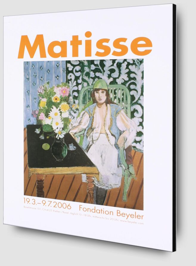 The Black Table - Henri Matisse from AUX BEAUX-ARTS Zoom Alu Dibond Image