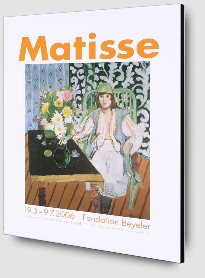 La Table Noire - Henri Matisse de AUX BEAUX-ARTS Zoom Alu Dibond Image