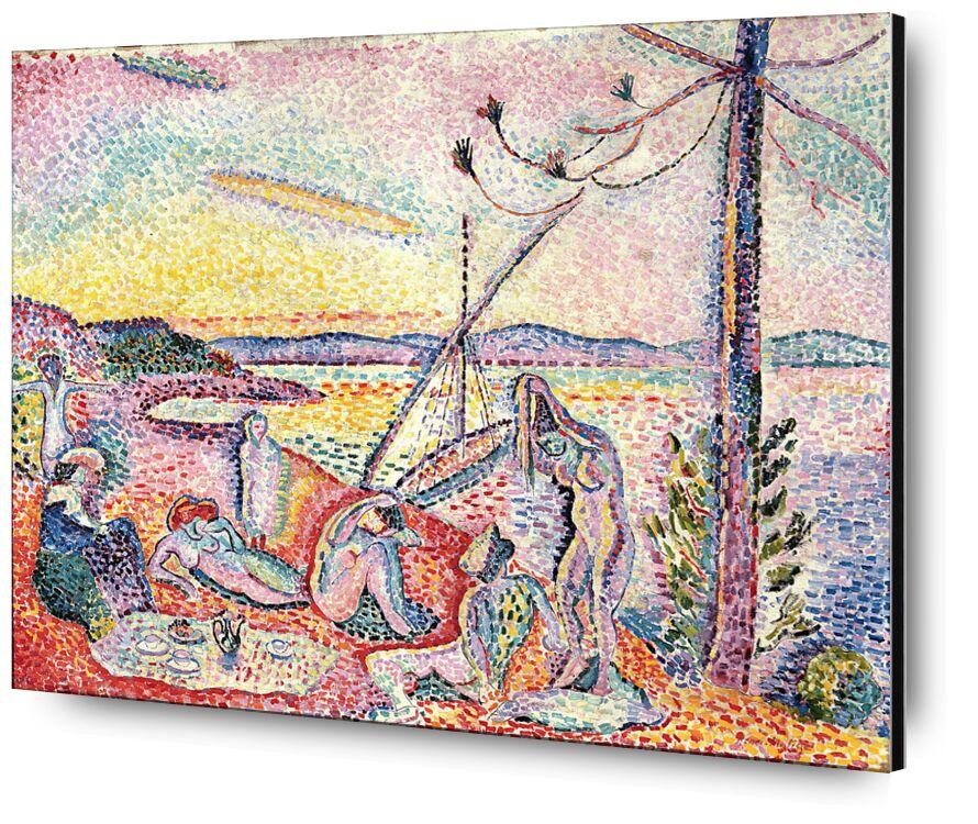 Luxe, Calm And Volupt, 1904 - Henri Matisse from AUX BEAUX-ARTS, Prodi Art, Matisse, beach, Sun, summer, holiday, woman