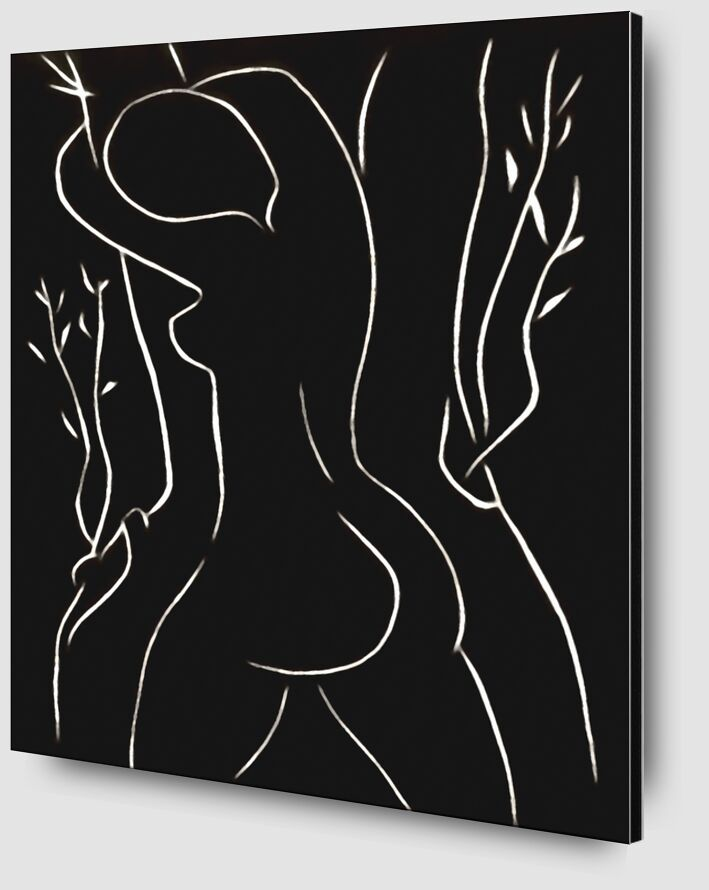 Pasiphae and Olive Tree - Henri Matisse from AUX BEAUX-ARTS Zoom Alu Dibond Image