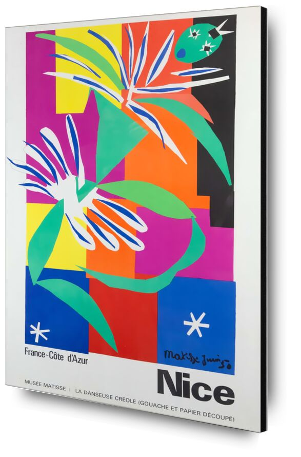 Nice, France - Côte d'Azur - Henri Matisse desde AUX BEAUX-ARTS, Prodi Art, bonito, Matisse, póster, Costa azul, Francia, palma