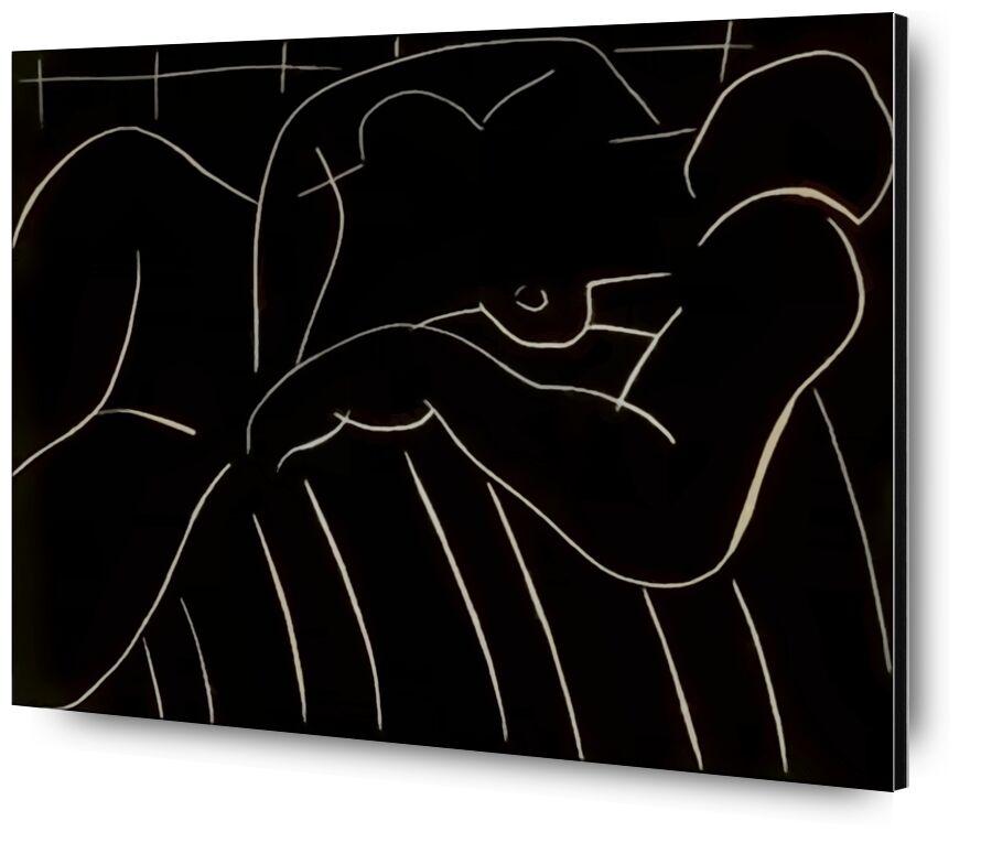 The Nap, 1938 - Henri Matisse desde AUX BEAUX-ARTS, Prodi Art, figurativo, siesta, lápiz, dibujo, Matisse