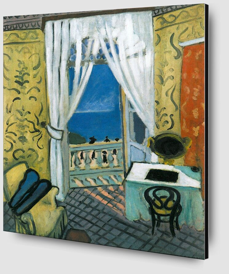 Still Life with Violin Case - Henri Matisse from AUX BEAUX-ARTS Zoom Alu Dibond Image