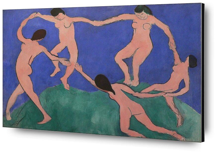 Dance I - Henri Matisse desde AUX BEAUX-ARTS, Prodi Art, Matisse, pintura, música, danza, desnudo