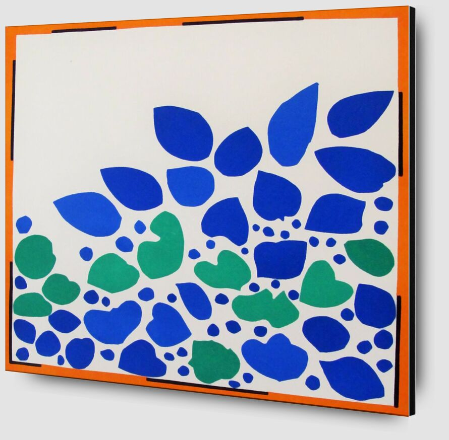 Verve, Lierre - Henri Matisse de AUX BEAUX-ARTS Zoom Alu Dibond Image