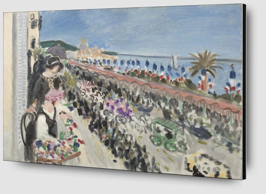 Fête des Fleurs, 1923 - Henri Matisse de AUX BEAUX-ARTS Zoom Alu Dibond Image
