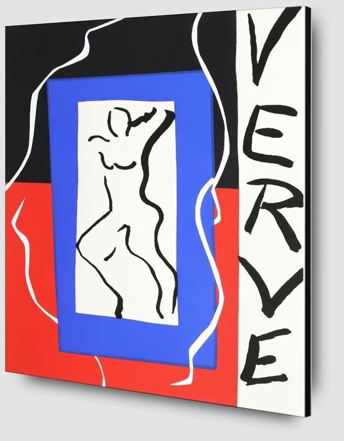 Verve - Henri Matisse desde AUX BEAUX-ARTS Zoom Alu Dibond Image