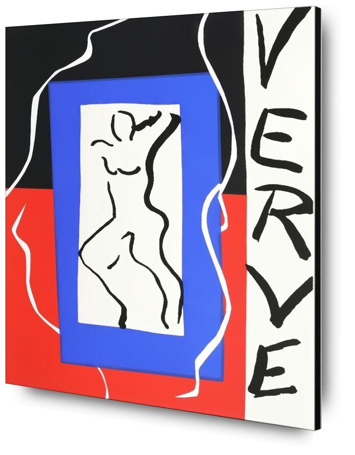 Verve - Henri Matisse desde AUX BEAUX-ARTS, Prodi Art, Matisse, póster, mujer, desnudo, brío