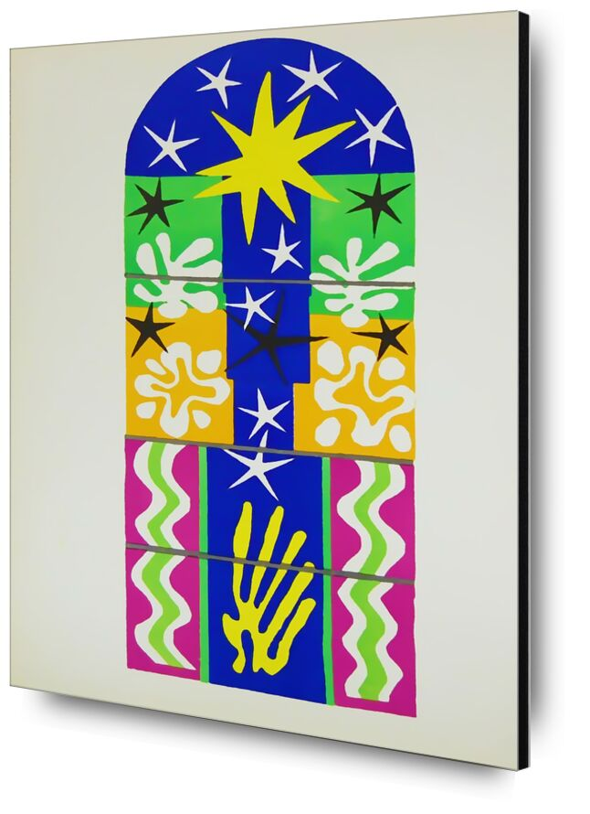 Verve, Christmas Night - Henri Matisse desde AUX BEAUX-ARTS, Prodi Art, Matisse, Navidad, dibujo, collage