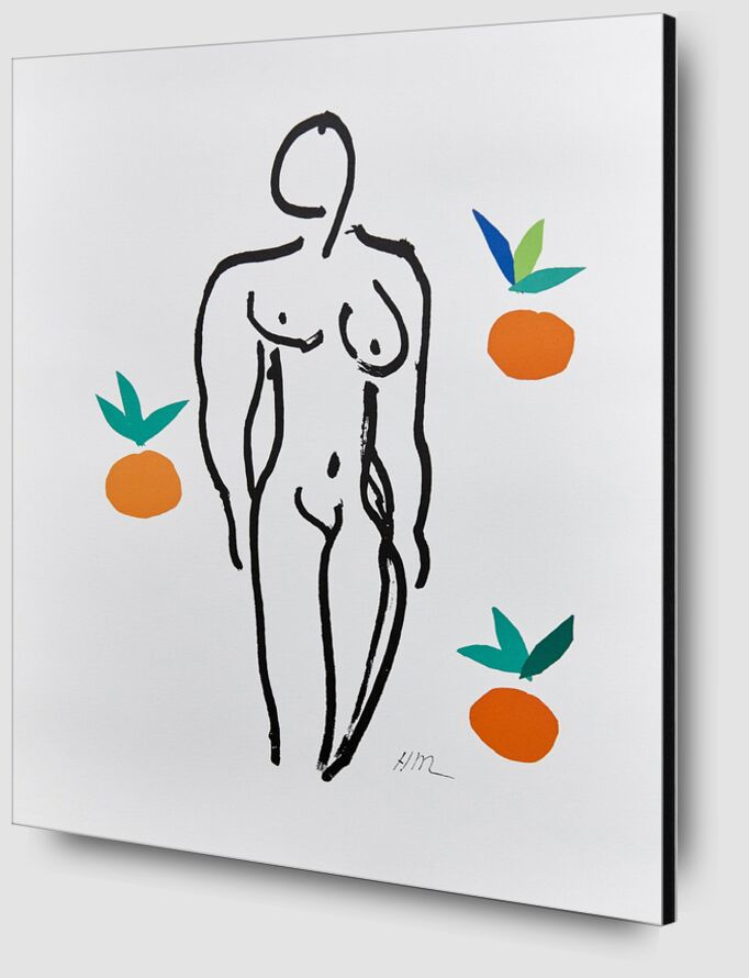 Verve, Nude with Oranges - Henri Matisse from AUX BEAUX-ARTS Zoom Alu Dibond Image