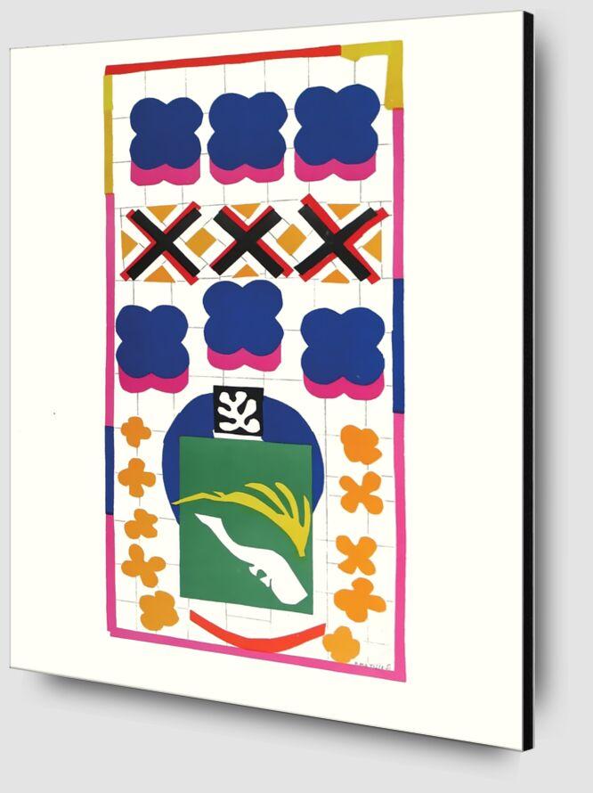 Verve - Poissons chinois - Henri Matisse de AUX BEAUX-ARTS Zoom Alu Dibond Image