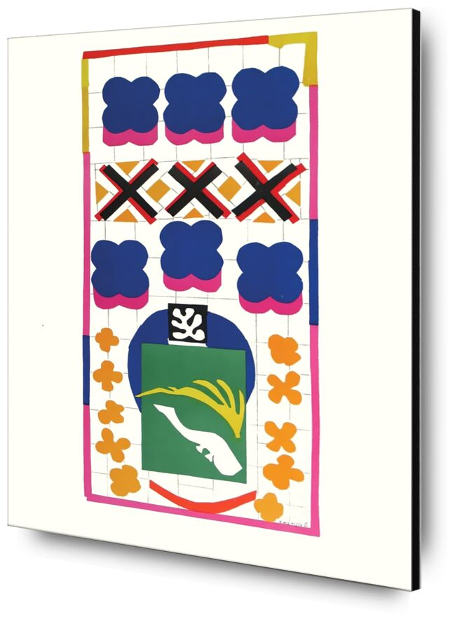 Verve - Poissons chinois - Henri Matisse de AUX BEAUX-ARTS, Prodi Art, Matisse, poisson, peinture, abstrait, chine, poisson chinois