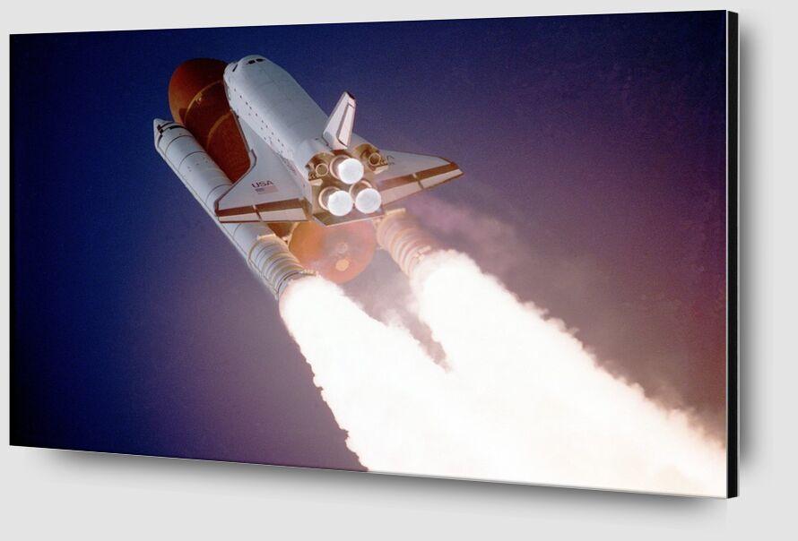 Rocket launch from Pierre Gaultier Zoom Alu Dibond Image