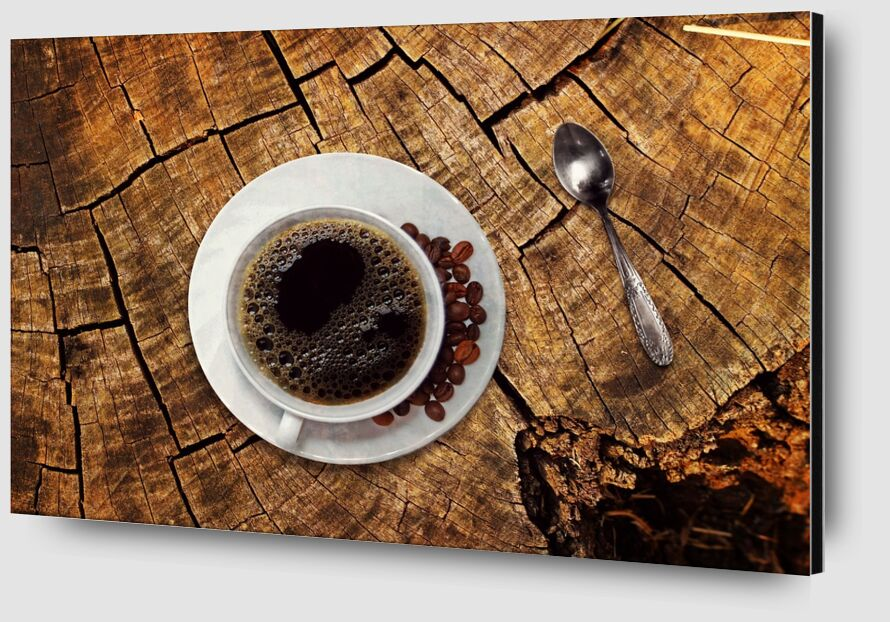 The coffee tree from Pierre Gaultier Zoom Alu Dibond Image