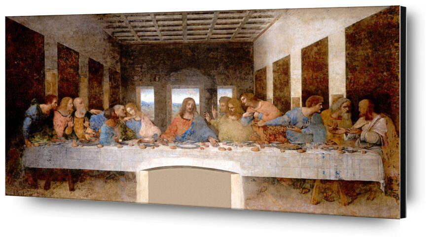 The Last Supper - Leonardo da Vinci desde AUX BEAUX-ARTS, Prodi Art, Leonard da vinci, Jesús, Cristo, iglesia, última cena, apóstoles