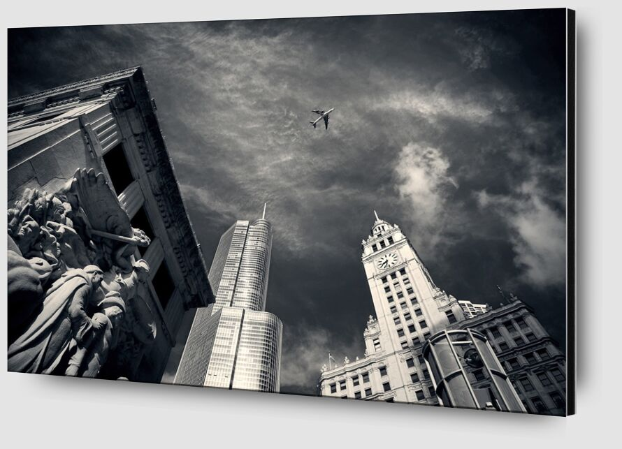 View from below from Pierre Gaultier Zoom Alu Dibond Image
