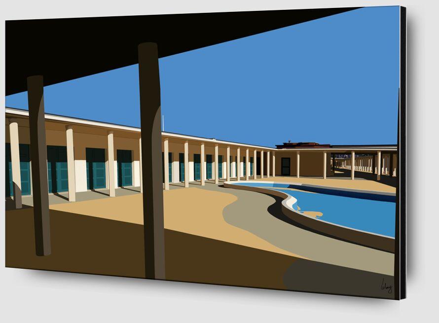 Deauville de Benoit Lelong Zoom Alu Dibond Image