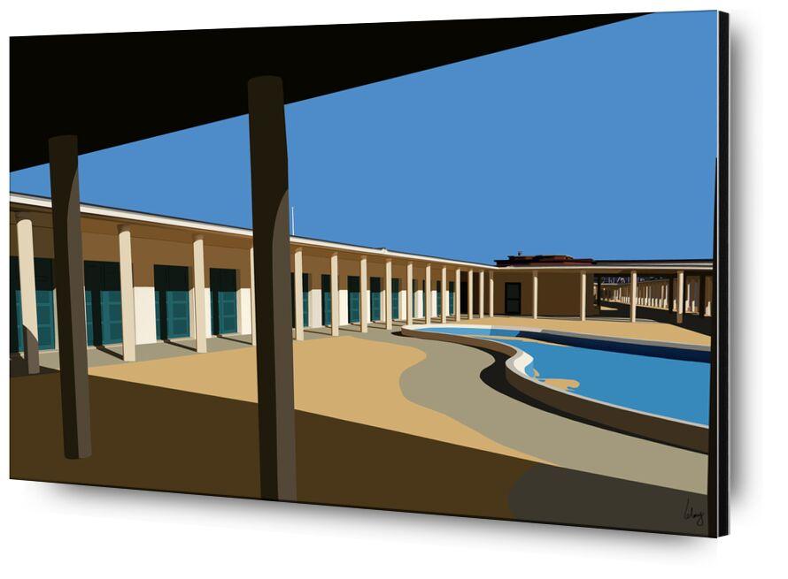 Deauville de Benoit Lelong, Prodi Art, artiste, Voyage, ciel bleu, inspirant, calme, décoration, original, nature, France, vacances, Normandie, architecture, création, sable, brut, ajouter un, été, bord de mer, plage, mer, architercte
