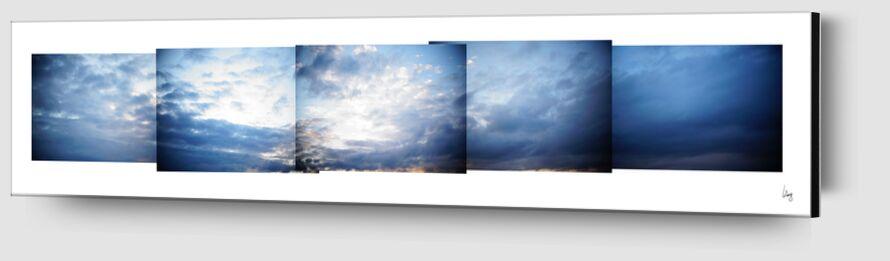 nuages 1 de Benoit Lelong Zoom Alu Dibond Image