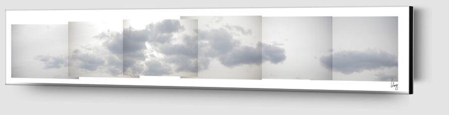 Nuages 2 de Benoit Lelong Zoom Alu Dibond Image