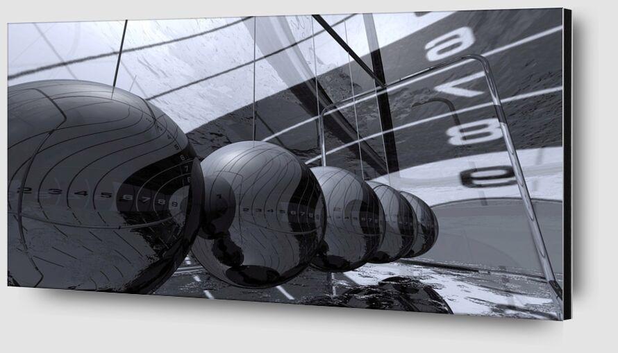 3D Chrome from Pierre Gaultier Zoom Alu Dibond Image