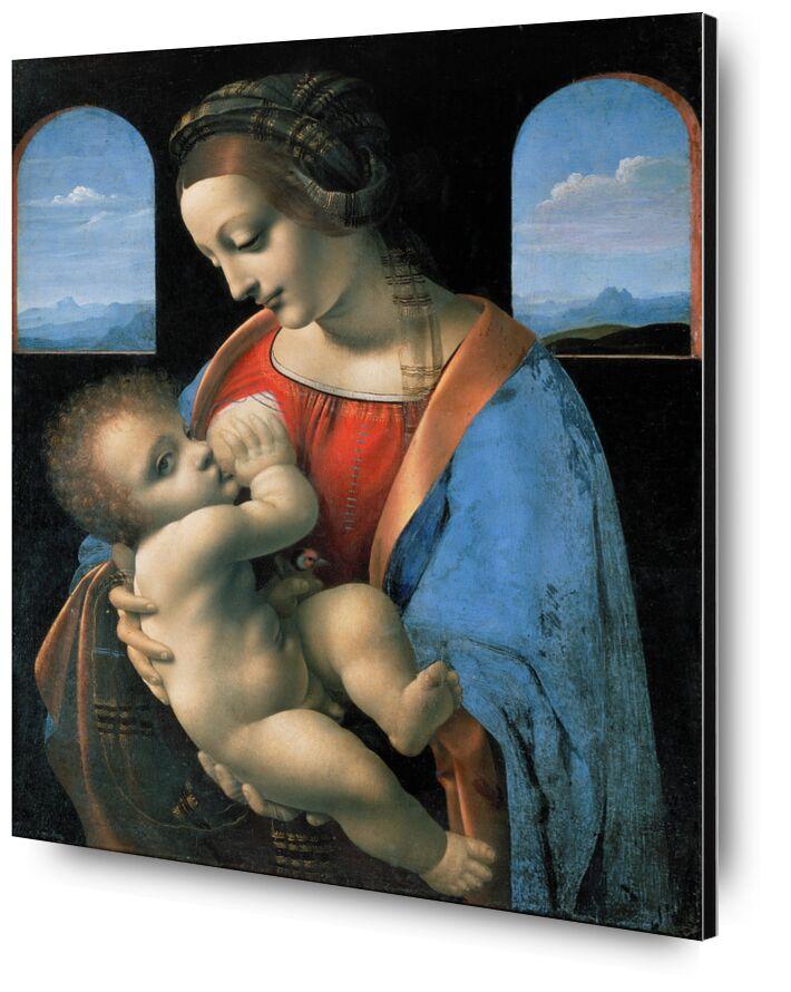 La Madone Litta - Léonard de Vinci de AUX BEAUX-ARTS, Prodi Art, allaitement, enfant, marie, jésus, Leonard de Vinci