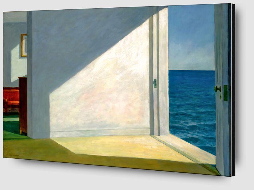Habitaciones Junto al Mar - Edward Hopper desde AUX BEAUX-ARTS Zoom Alu Dibond Image
