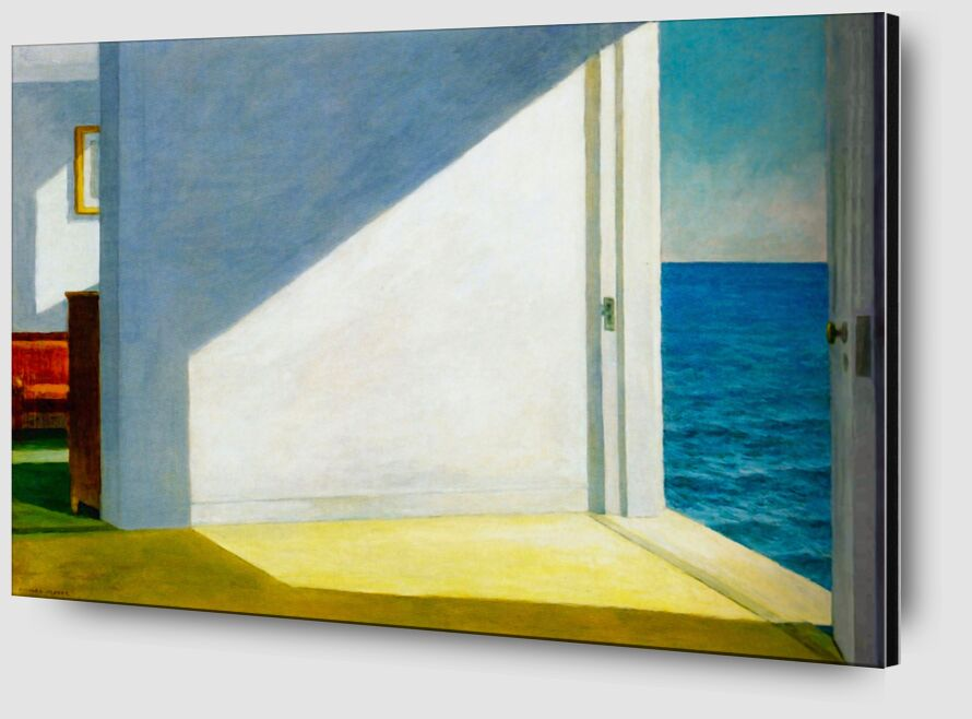 Rooms by the Sea - Edward Hopper from AUX BEAUX-ARTS Zoom Alu Dibond Image