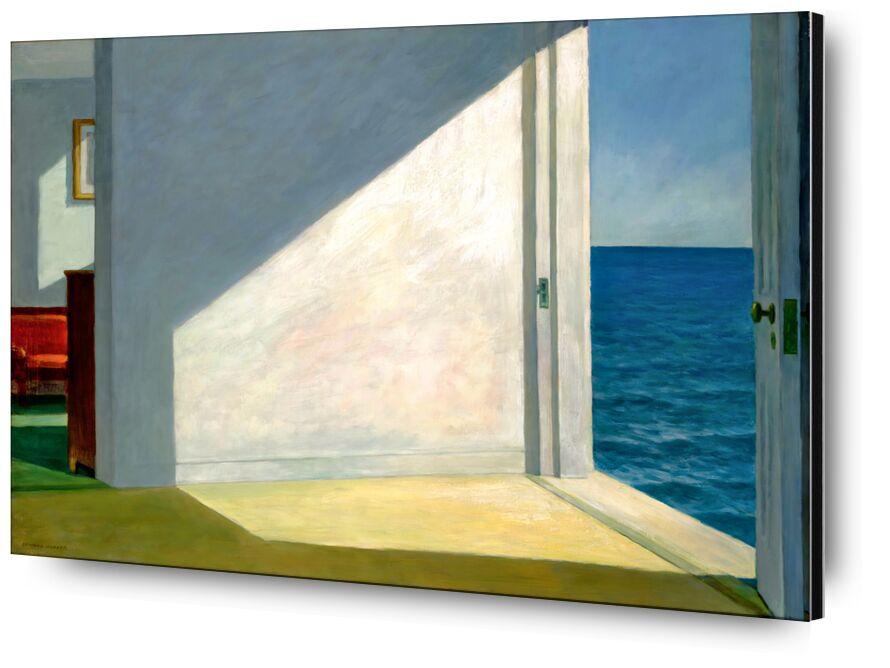 Rooms by the Sea - Edward Hopper from AUX BEAUX-ARTS, Prodi Art, Eward Hopper, holiday, sky, summer, Sun, beach, sea