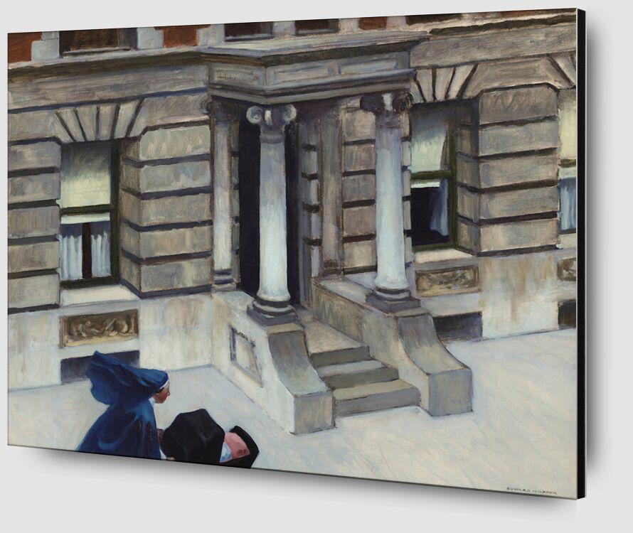 Pavimentos de Nueva York - Edward Hopper desde AUX BEAUX-ARTS Zoom Alu Dibond Image