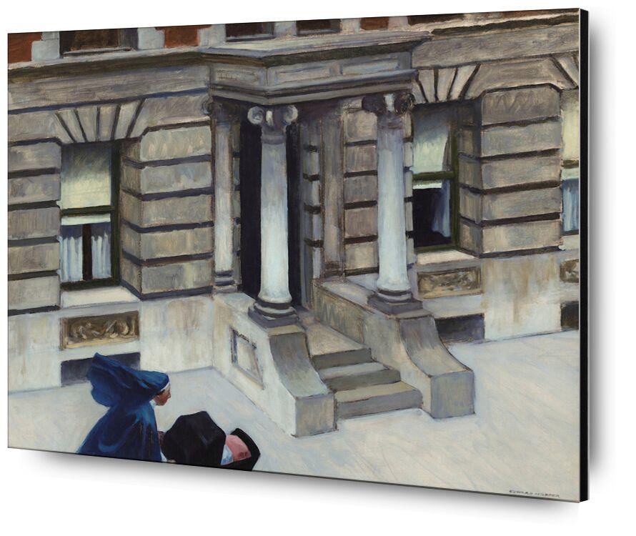 Pavimentos de Nueva York - Edward Hopper desde AUX BEAUX-ARTS, Prodi Art, Edward Hopper, Nueva York, aceras
