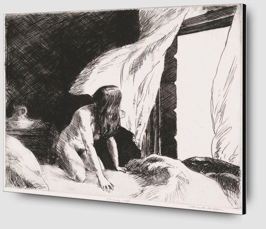 Evening Wind - Edward Hopper from AUX BEAUX-ARTS Zoom Alu Dibond Image