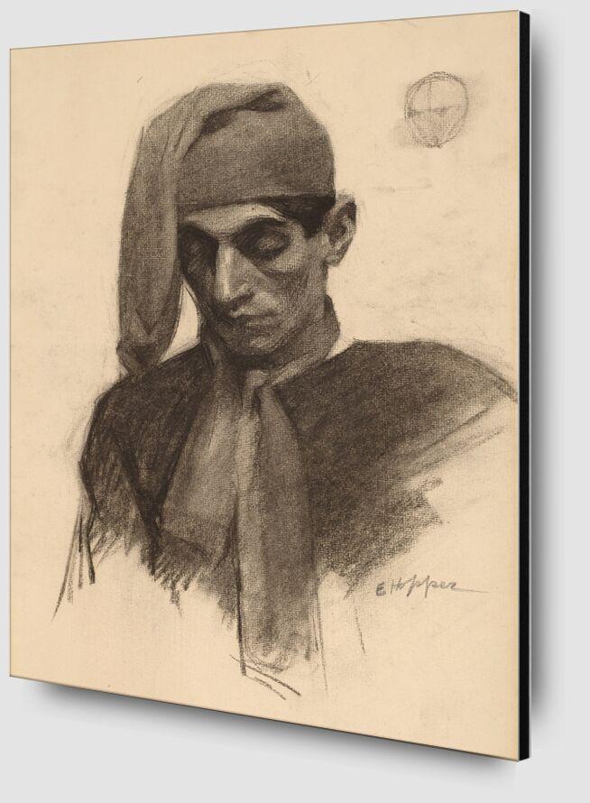 Jimmy Corsini - Edward Hopper desde AUX BEAUX-ARTS Zoom Alu Dibond Image