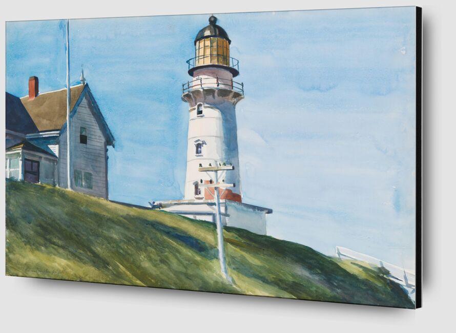 Luz en Dos Luces - Edward Hopper desde AUX BEAUX-ARTS Zoom Alu Dibond Image