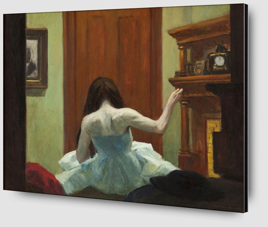 Interior de Nueva York - Edward Hopper desde AUX BEAUX-ARTS Zoom Alu Dibond Image