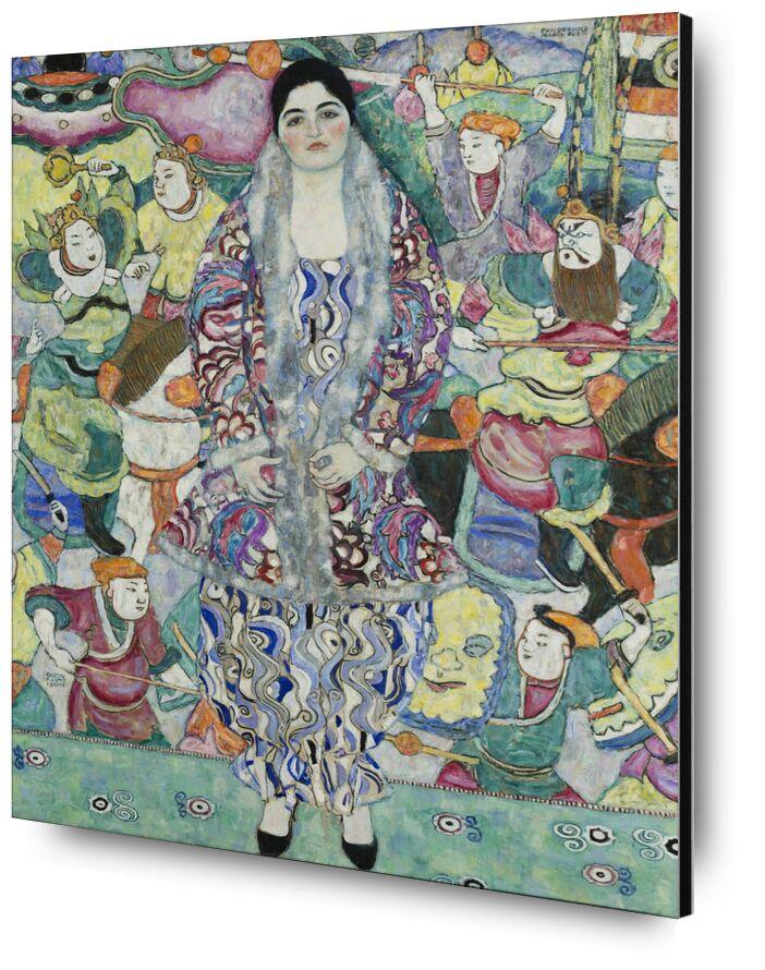 Portrait of Friedericke Maria Beer - Gustav Klimt desde AUX BEAUX-ARTS, Prodi Art, KLIMT, retrato, pintura, mujer, Asia