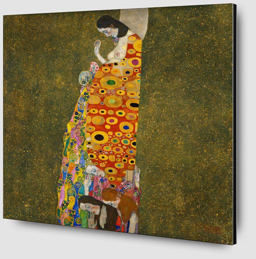 Hope II - Gustav Klimt desde AUX BEAUX-ARTS Zoom Alu Dibond Image