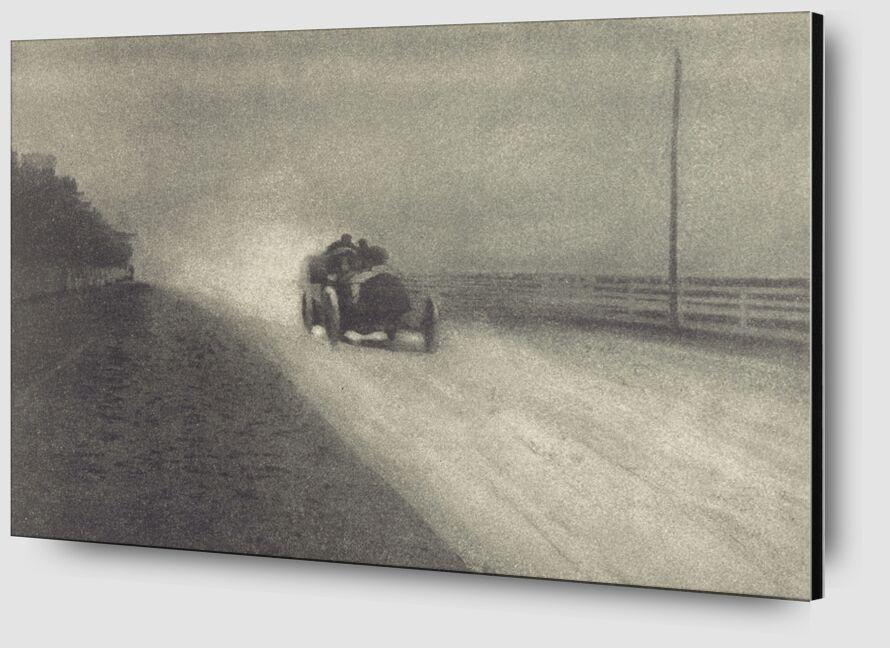 Travaux de Photographie Numéro 7 - 1904 - Edward Steichen de AUX BEAUX-ARTS Zoom Alu Dibond Image