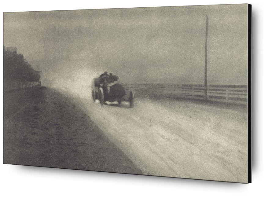Trabajo de Cámara Número 7 - 1904 - Edward Steichen desde AUX BEAUX-ARTS, Prodi Art, carro, blanco y negro, víspera de la foto, Steichen