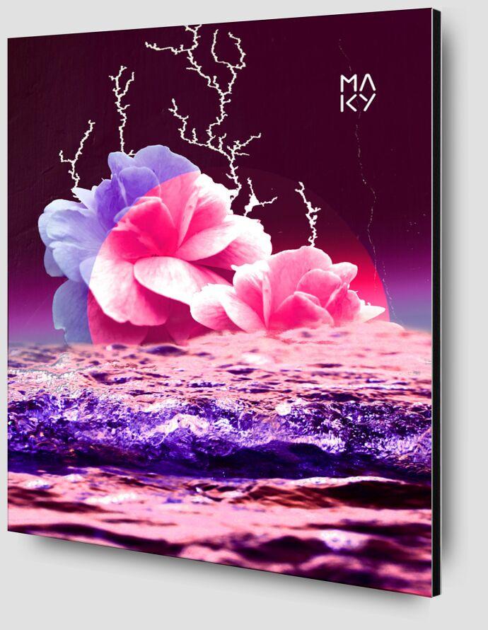 気8.1 de Maky Art Zoom Alu Dibond Image