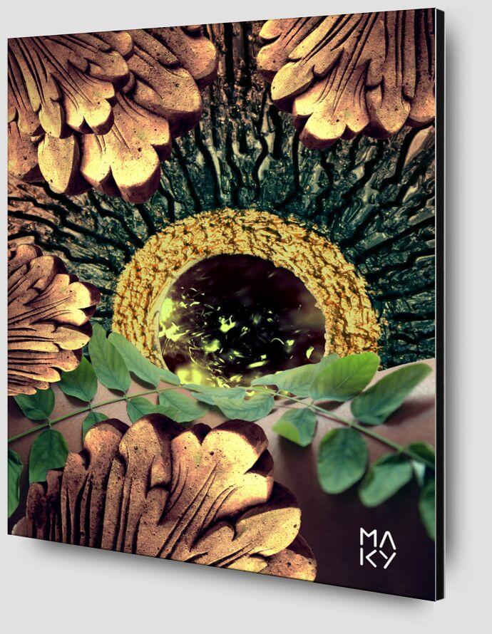 気8.3 de Maky Art Zoom Alu Dibond Image