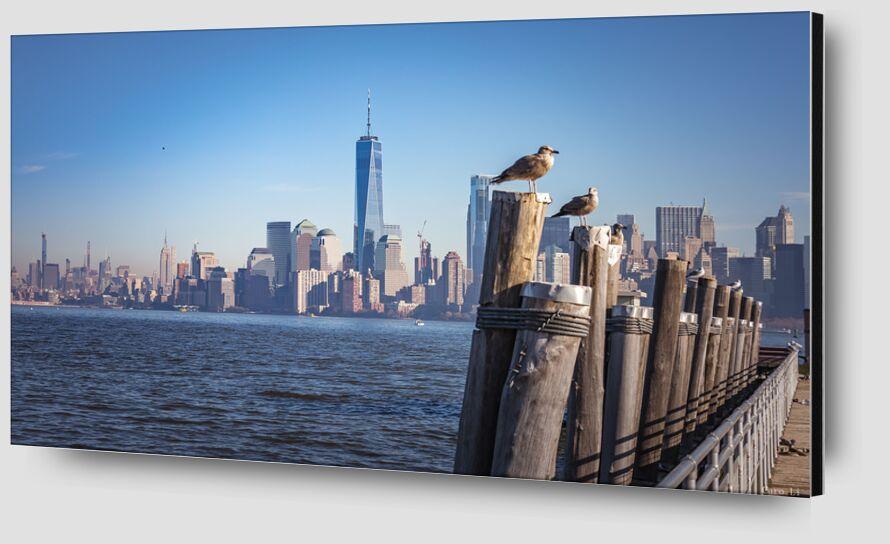 Manhattan de Caro Li Zoom Alu Dibond Image