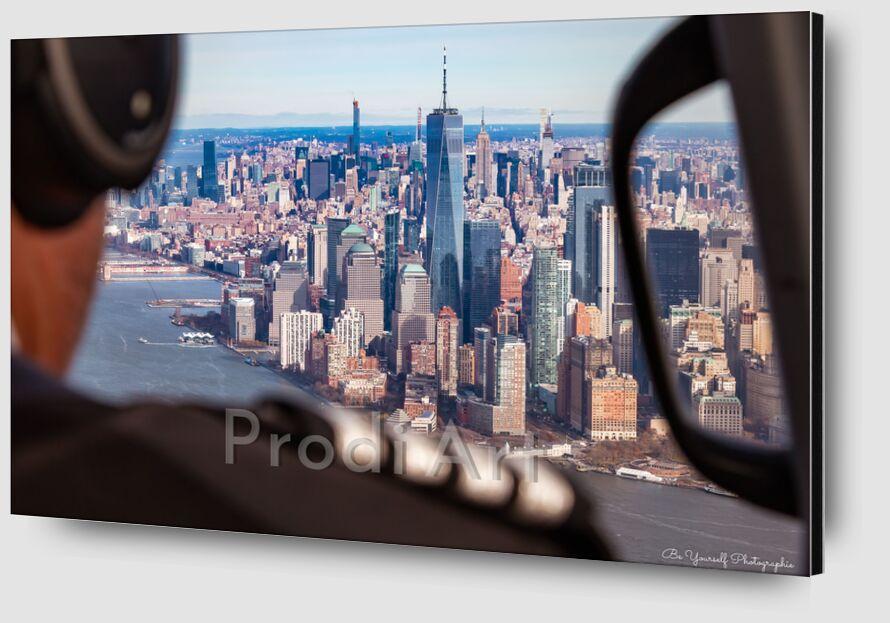 New York de Caro Li Zoom Alu Dibond Image
