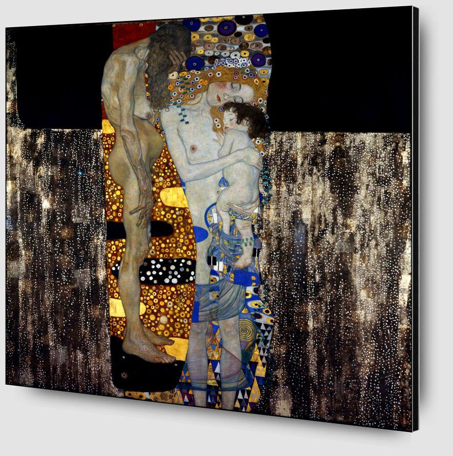 The Three Ages of Woman - Gustav Klimt desde AUX BEAUX-ARTS Zoom Alu Dibond Image