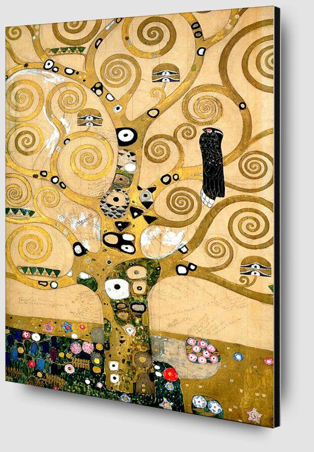 The tree of Life, The Arborvitae - Gustav Klimt from AUX BEAUX-ARTS Zoom Alu Dibond Image