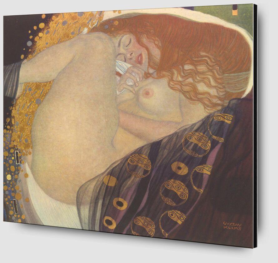 Danae I - Gustav Klimt desde AUX BEAUX-ARTS Zoom Alu Dibond Image